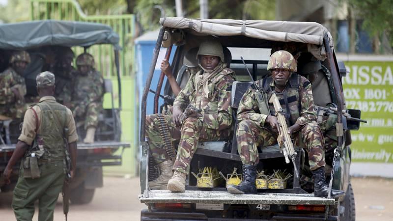 Cinco detenidos relacionados con la masacre de la Universidad de Garissa