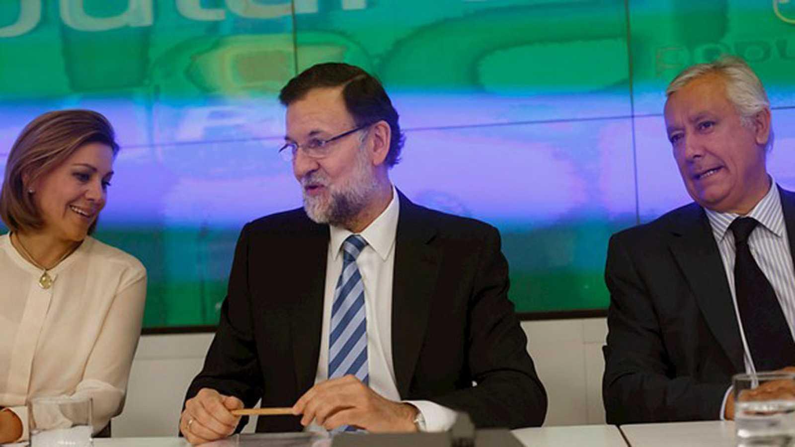 """Rajoy insta a los suyos a """"centrarse en lo importante"""""""