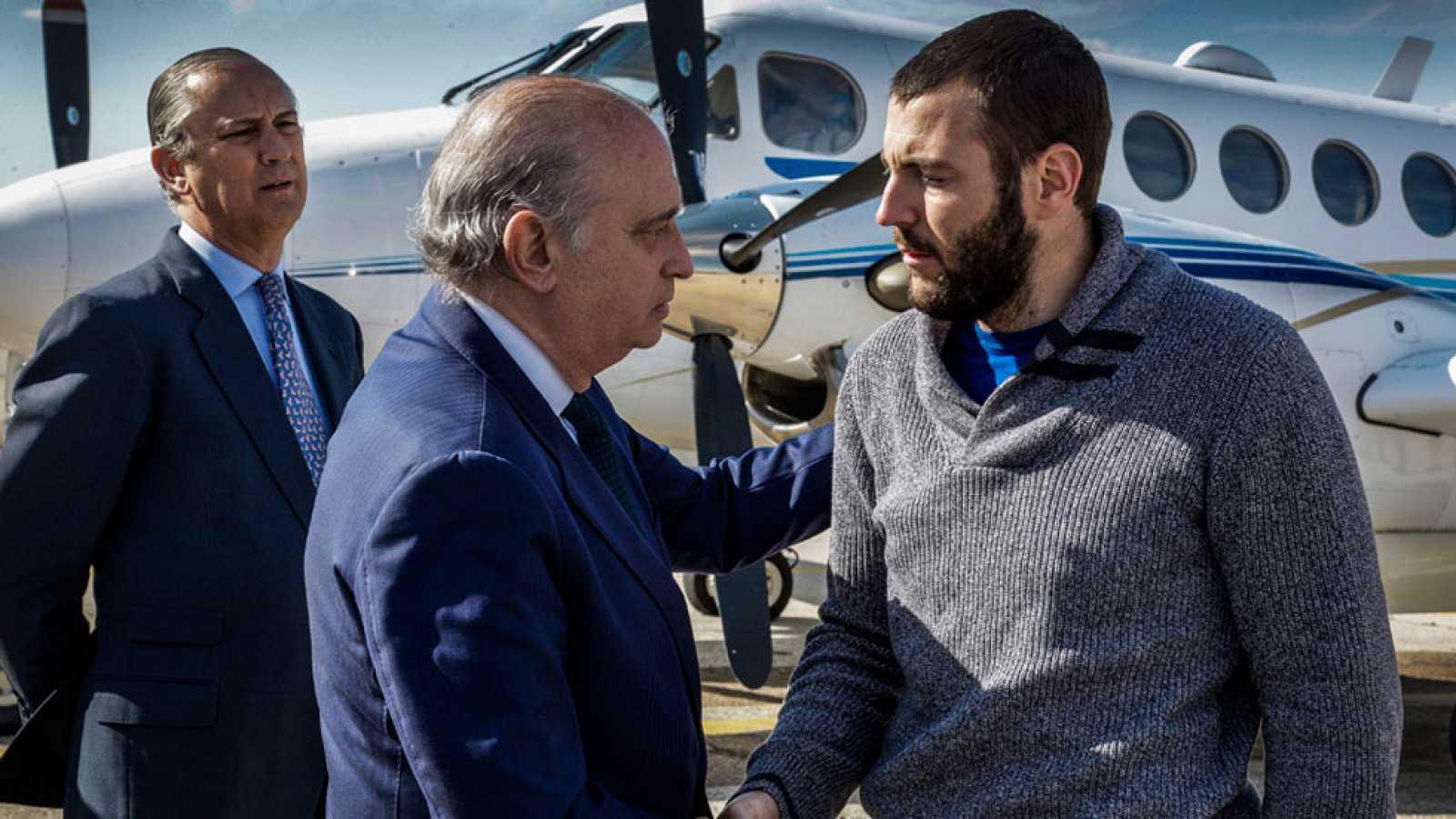 Llega a España el espeleólogo superviviente del accidente de Marruecos