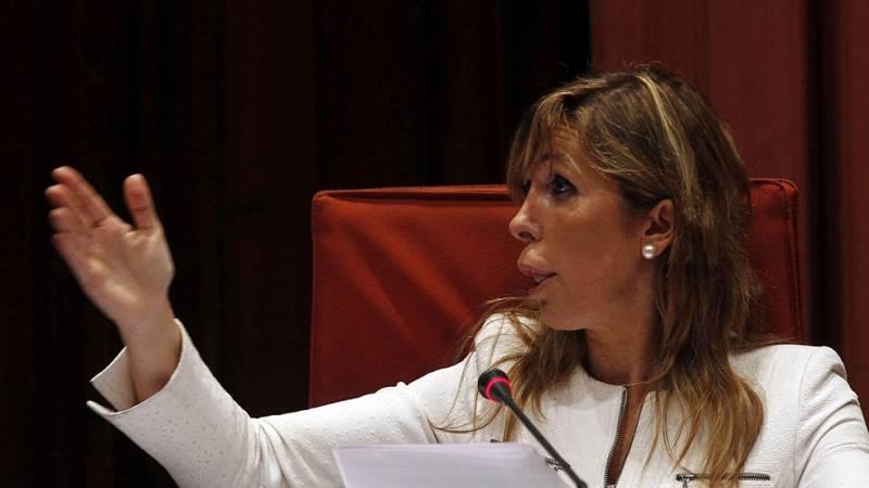 """Sánchez-Camacho asegura en el Parlament que la grabación del restaurante """"La Camarga"""" está manipulada"""