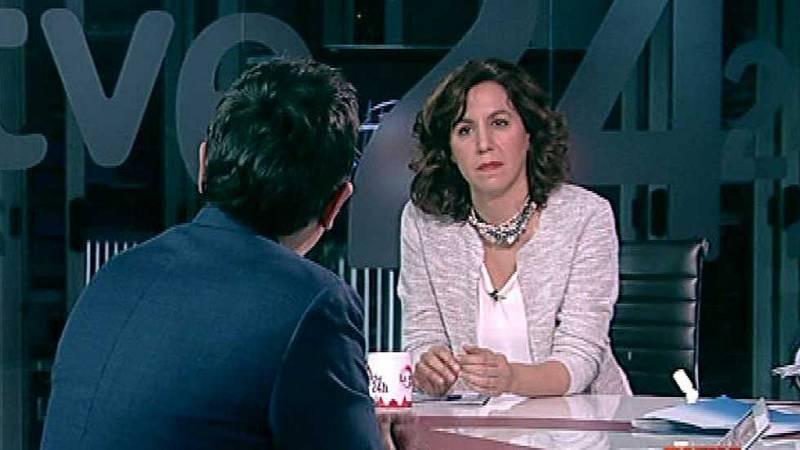 """Irene Lozano: """"UPyD tiene un problema por no asumir responsabilidades"""""""