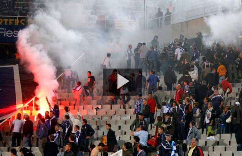 El Camp Nou contra la violencia