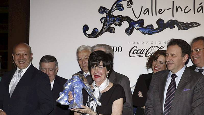 Concha Velasco gana el premio Valle-Inclán de Teatro por su papel en Hécuba
