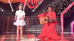 Nayra canta junto a María del Monte