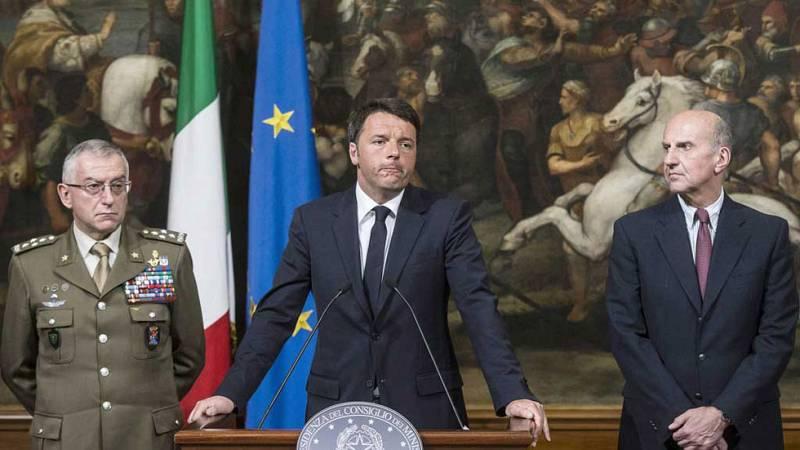 Matteo Renzi pide una cumbre extraordinaria de líderes europeos
