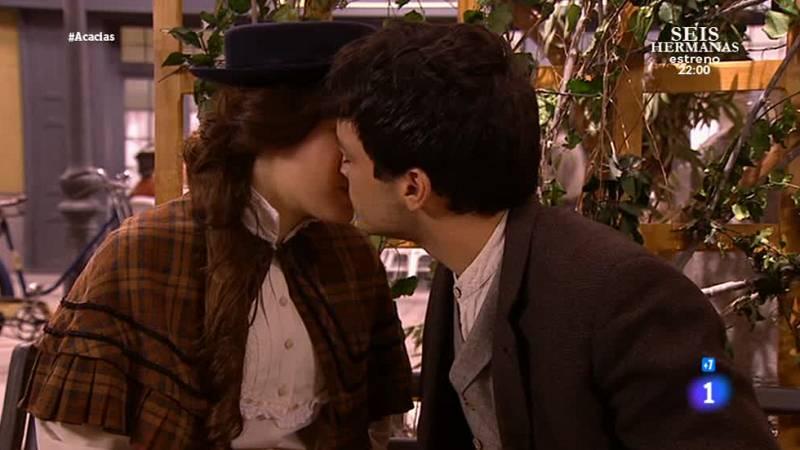 'Acacias 38' - Leonor y Pablo se besan por primera vez
