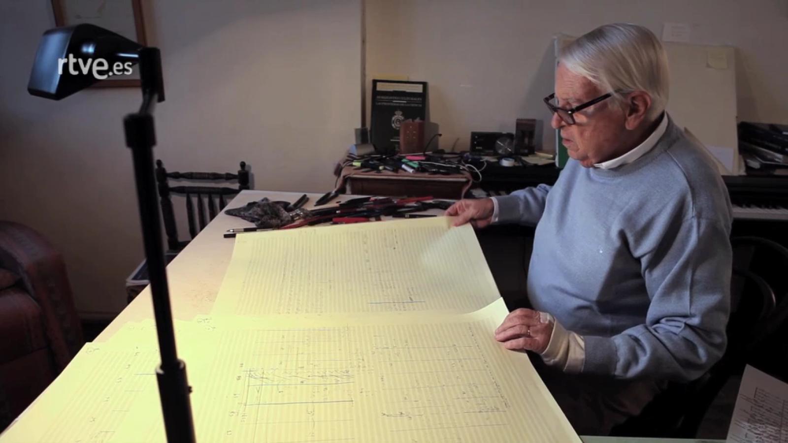 Cristóbal Halffter, libertad imaginada - Escenas estre la creatividad y el trabajo
