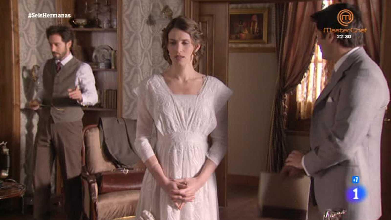 'Seis Hermanas' - Cristobal ayuda a Blanca ante doña Dolores