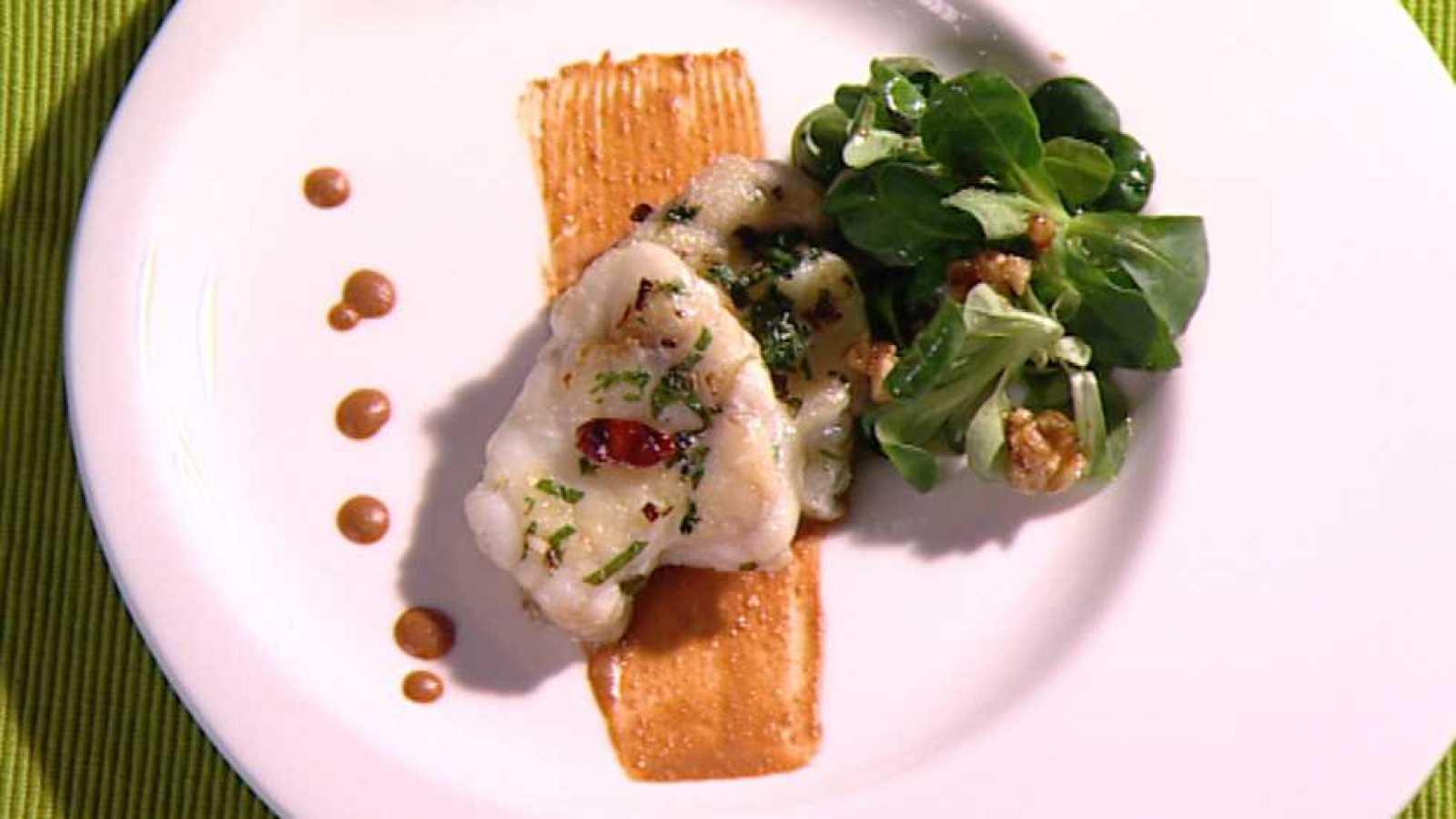 Cocina con Sergio - Rape con salsa de ñoras y nueces - ver ahora