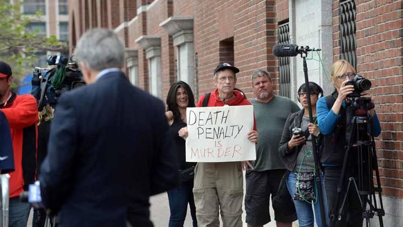 El coautor de los atentados de Boston, condenado a muerte