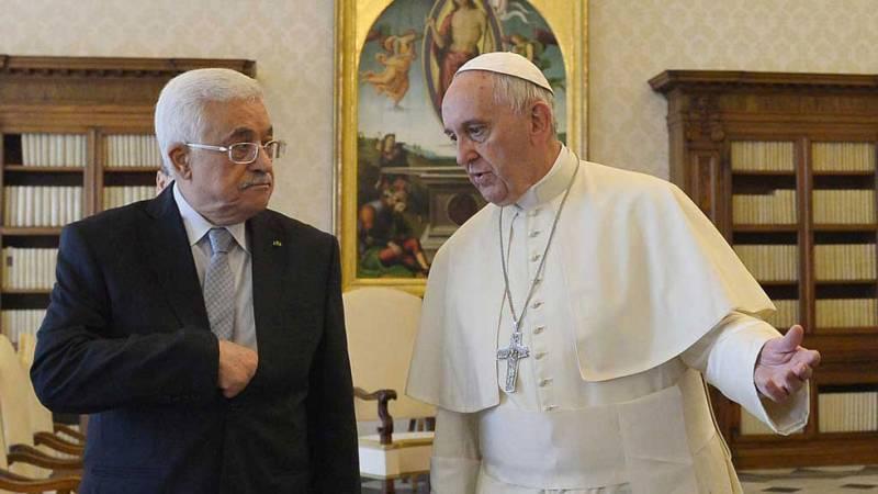 Mahmud Abás y el papa Francisco volverán a coincidir