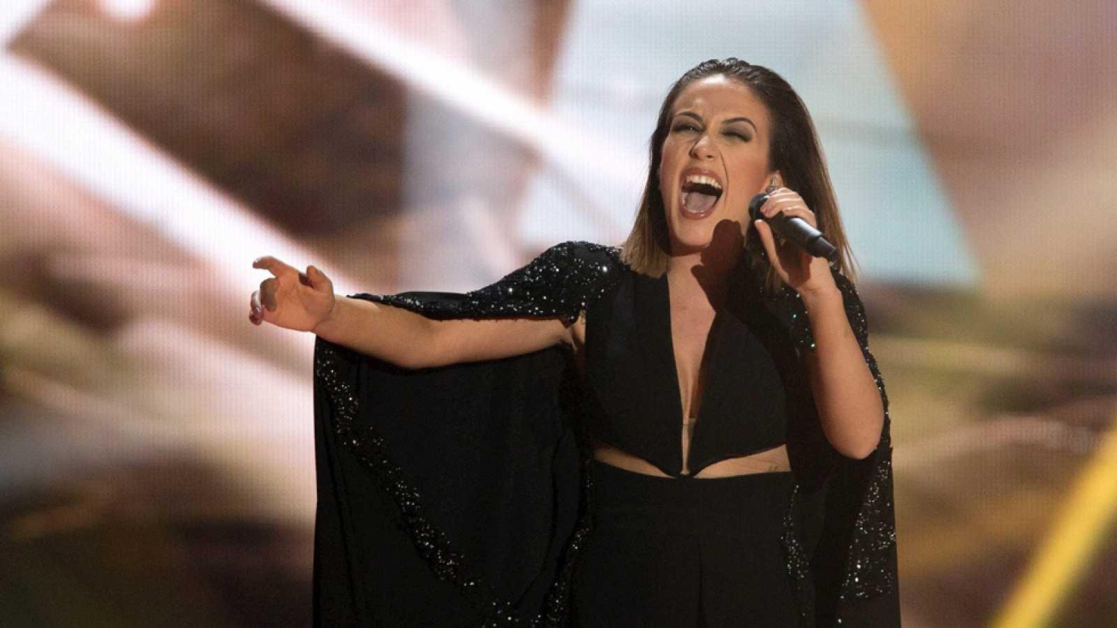 """Albania: Elhaida Dani canta """"I'm alive"""""""