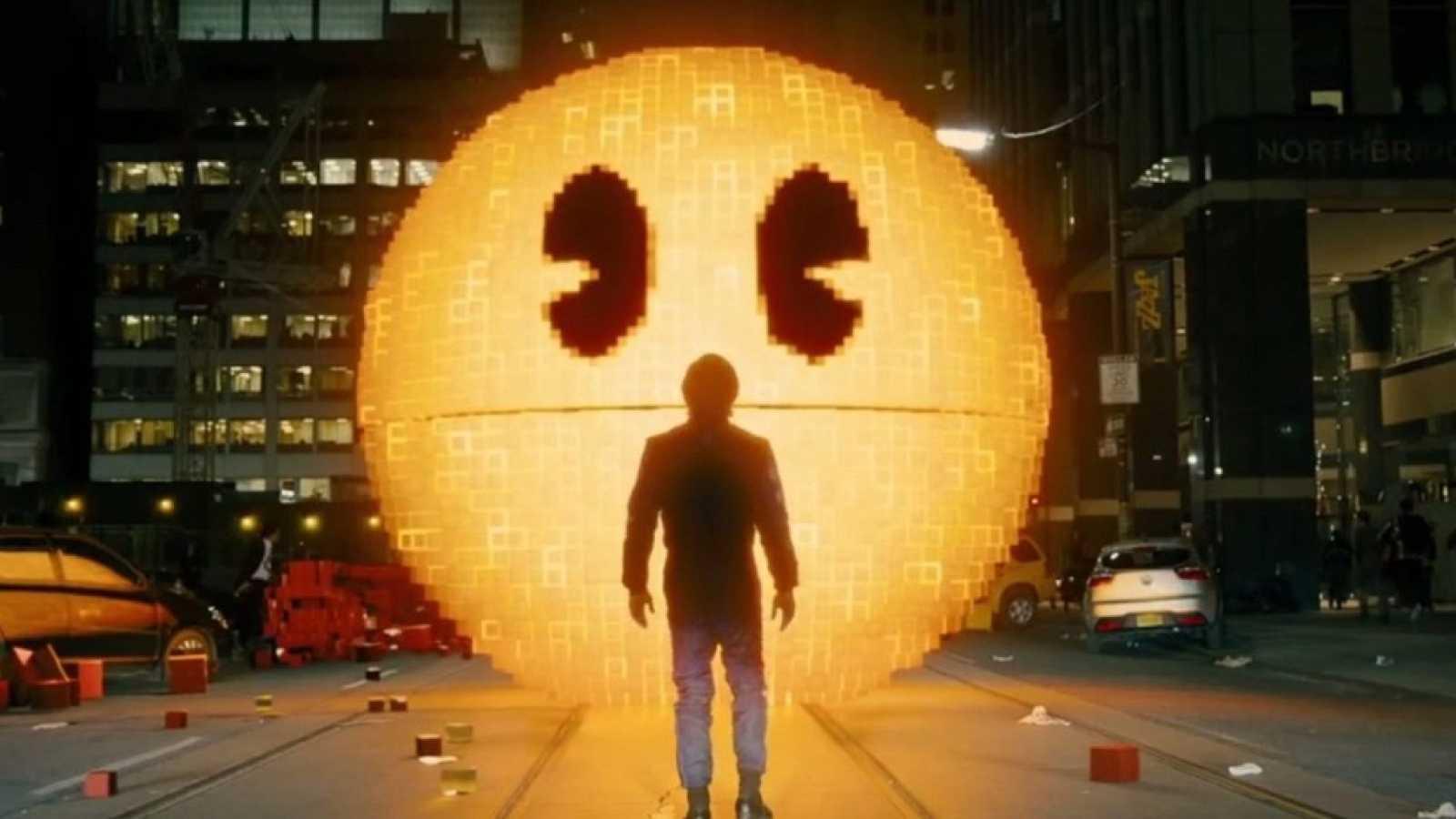Pac-Man celebra sus 35 años con la película 'Pixels'