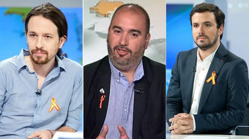 Entrevistas electorales: Pablo Iglesias (Podemos), Arnau Funes (ICV) y Alberto Garzón (IU)