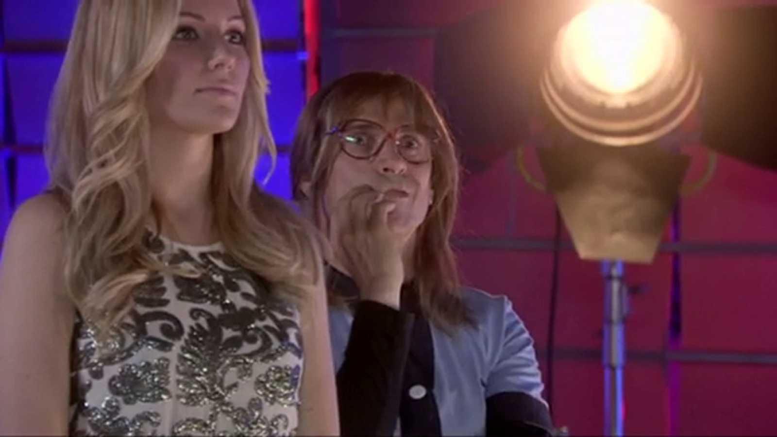 'José Mota presenta' - Edurne visita a Mota antes de la final de Eurovisión