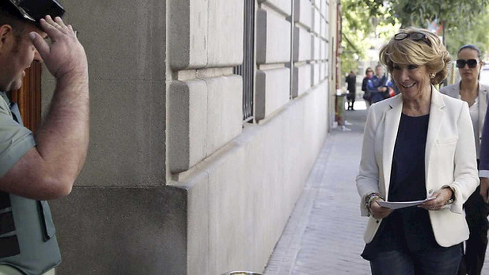 Aguirre denuncia ante la fiscalía general del estado la filtración de su declaración de la renta de 2013