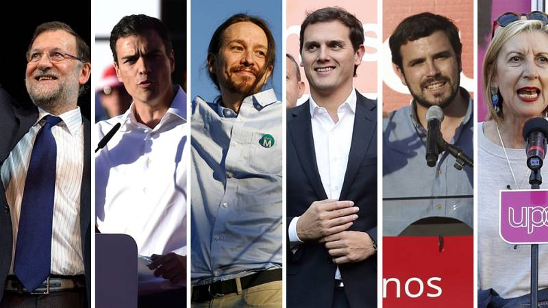 Los principales partidos hacen un llamamiento a los electores indecisos en el cierre de campaña