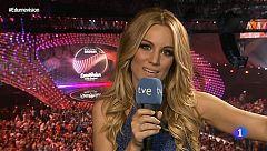 """Eurovisión 2015 - La última entrevista de Edurne antes de cantar """"Amanecer"""" en El Festival"""