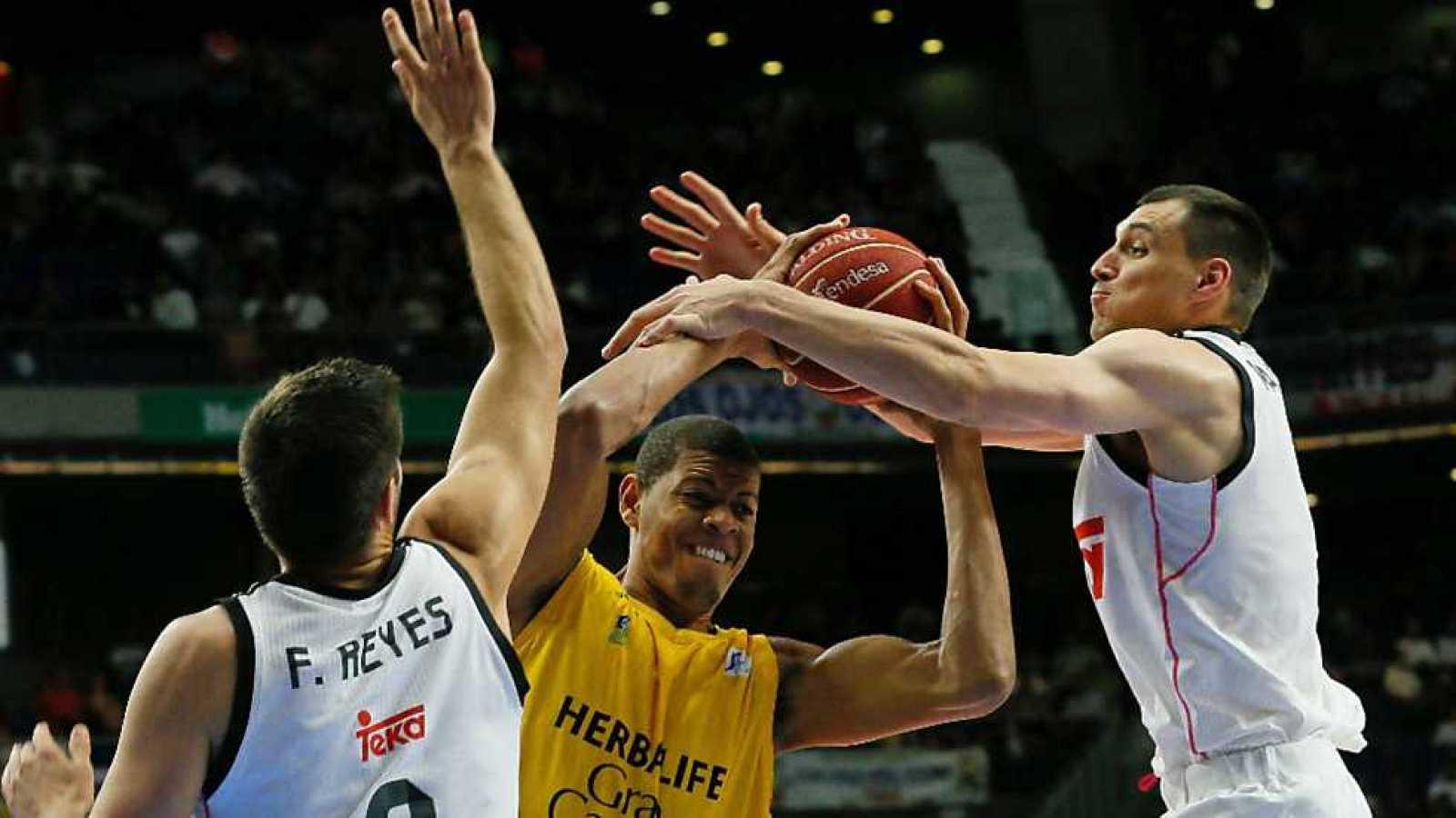 Baloncesto - Liga ACB. Play Off. Cuartos de final: Real Madrid-Herbalife Gran Canaria - Ver ahora