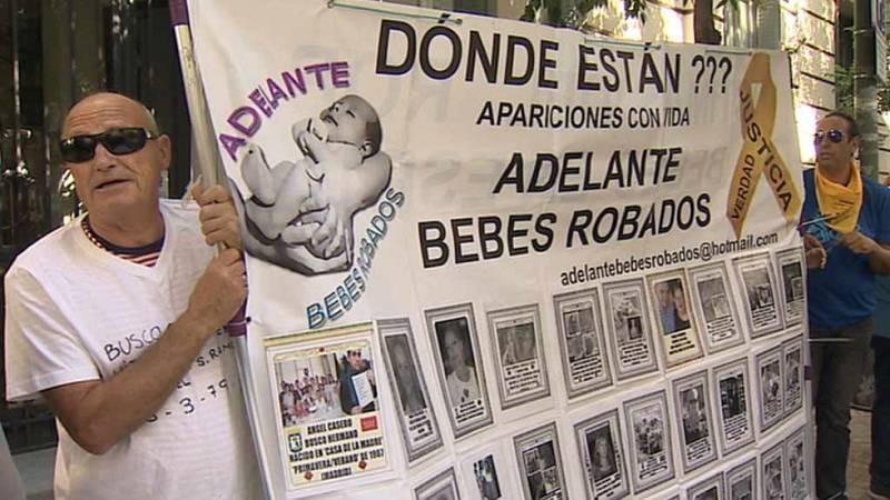Asociaciones de bebés robados protestan por los casos archivados