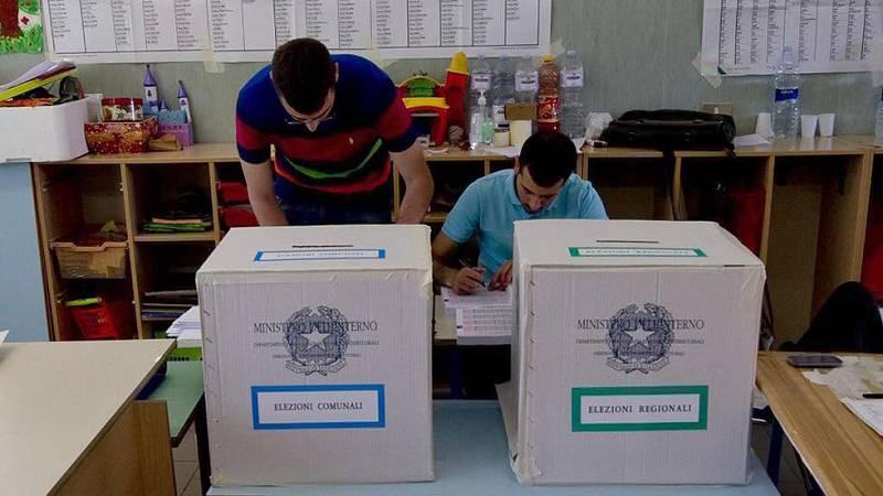 Los italianos votan para renovar los gobiernos de siete regiones