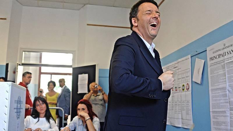 El centro izquierda del primer ministro Renzi gana las elecciones regionales en Italia