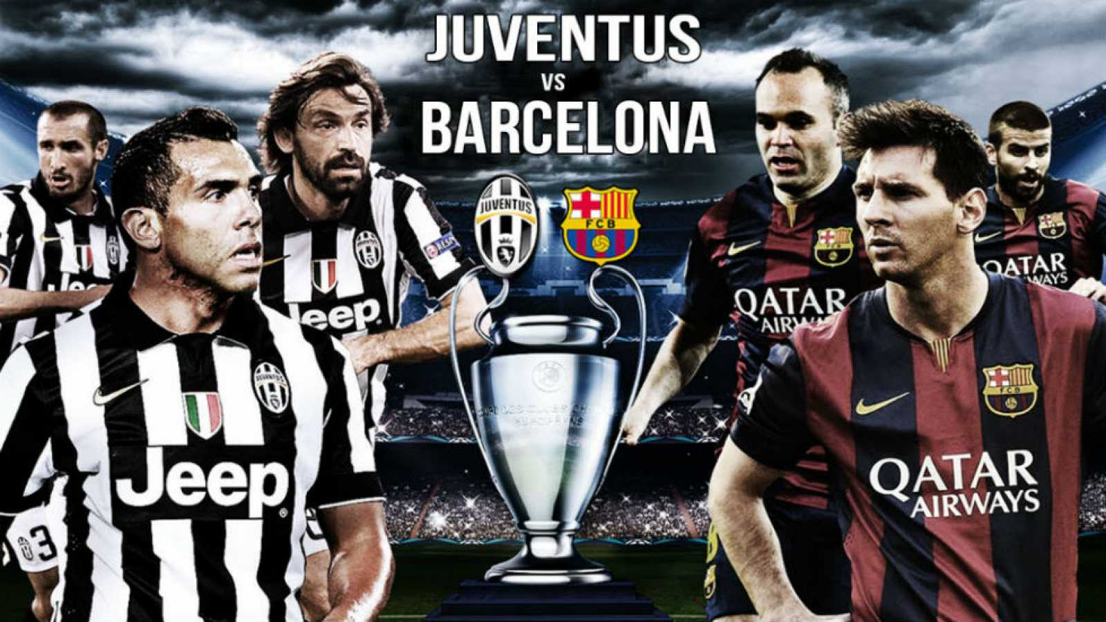 Final Champions League Juventus Vs Barcelona En Directo En Vivo Y Multipantalla