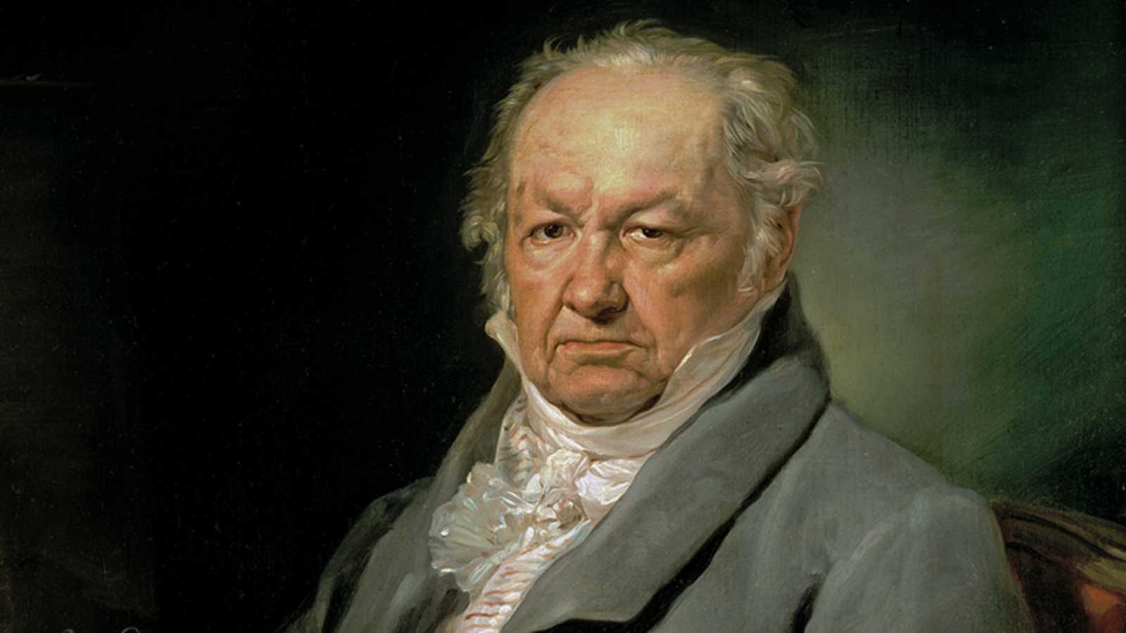 Paisaje con figuras - Francisco de Goya