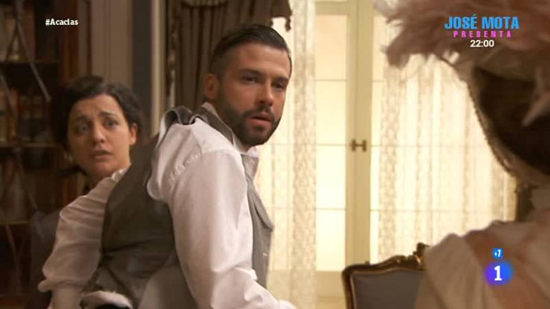 'Acacias 38' - Celia descubre a Felipe siéndole infiel con Herminia