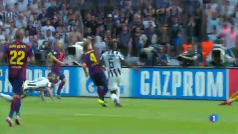 Un resum de les imatges més destacades de la final de la Champions entre el Barça i la Juventus