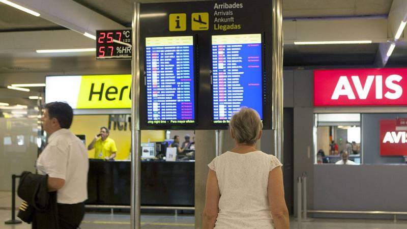 Los paros de los controladores aéreos apenas han alterado la actividad en los aeropuertos españoles