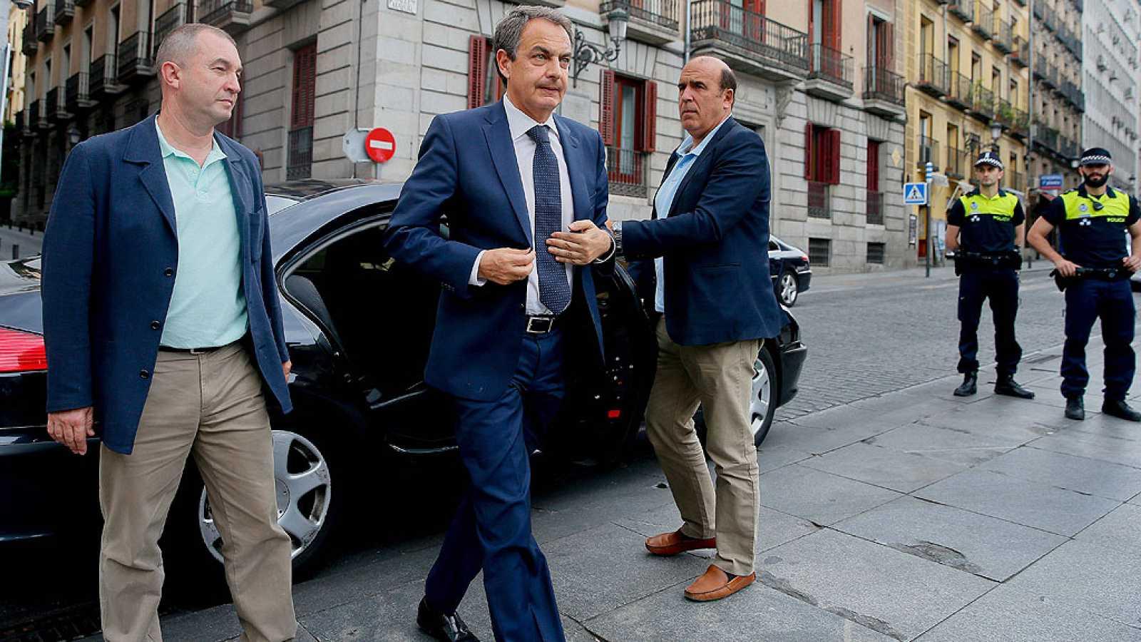 Último adiós a Pedro Zerolo en la Casa de la Villa de Madrid
