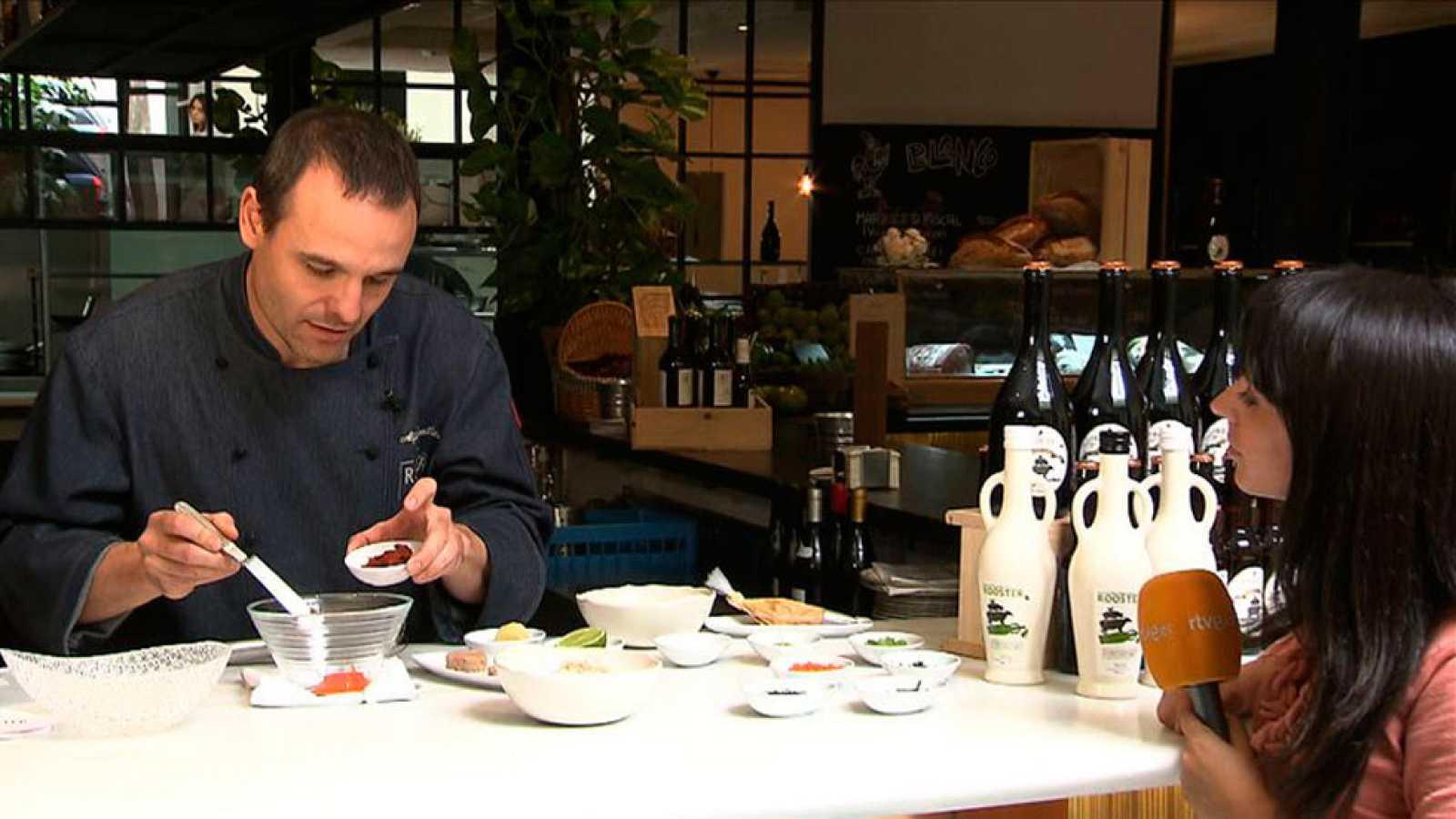 Alfonso Castellano nos prepara una ensaladilla de bogavante