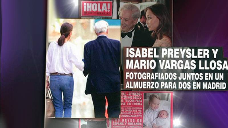 Isabel Preysler y Mario Vargas Llosa ¿juntos?