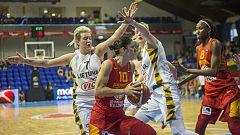 Lituania 58 - España 72