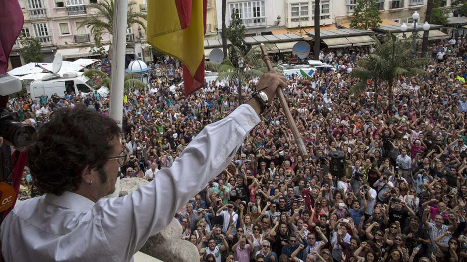 Por Cádiz sí se Puede desbanca a la popular Teófila Martínez, con el apoyo del PSOE