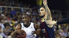 Baloncesto - Liga ACB. Play Off. Semifinales. 5º partido: FC Barcelona-Unicaja (1)
