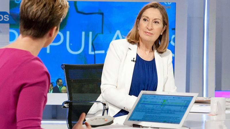 """Ana Pastor cree que la reforma electoral para que gobierne el más votado es """"necesaria"""""""