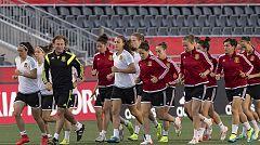 España afronta su primera final ante Corea