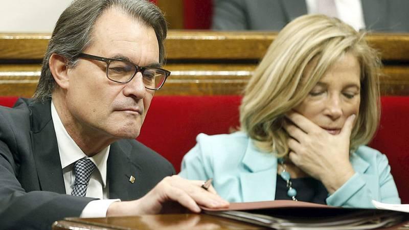 Convergència rompe su relación con Unió a la vez que Mas remodela su Gobierno