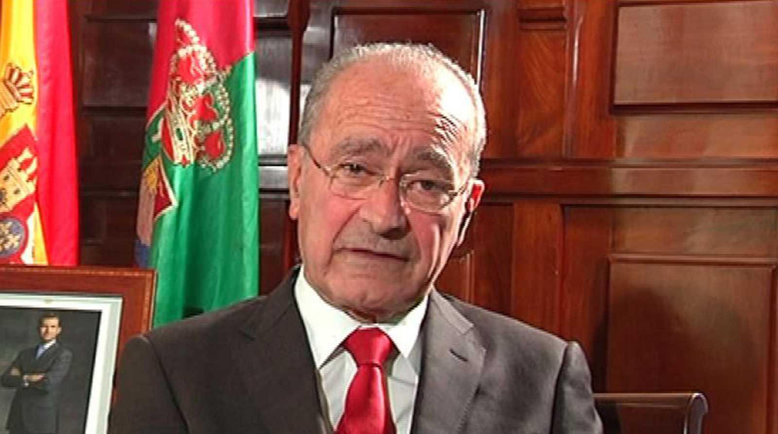 """Francisco de la Torre, alcalde de Málaga (PP): """"Desde el programa, no ha habido dificultad (para pactar con Ciudadanos) concidimos casi al 100%"""""""