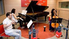 Estudio 206 - Trío Shinzo (piano, chelo y flauta travesera)