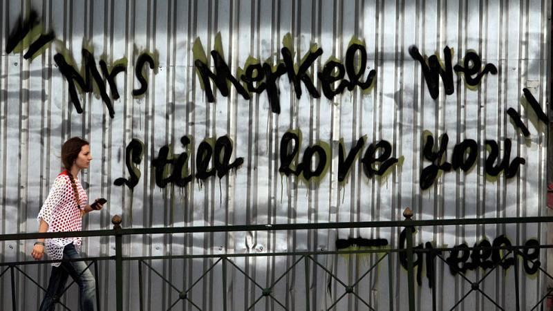 Incertidumbre en las calles de Grecia por la apertura de los bancos