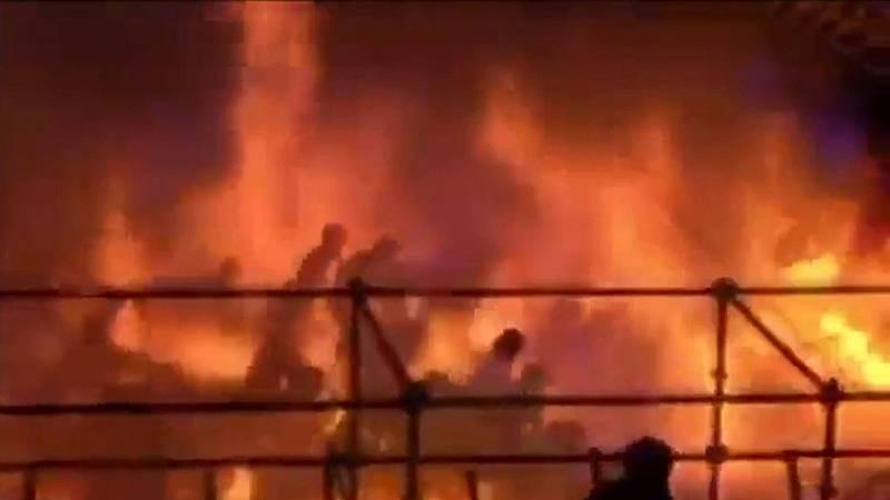 524 heridos en el incendio en un parque de atracciones de Taiwan
