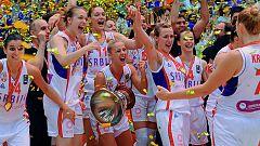 Serbia se corona campeona de Europa ante Francia