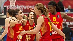Las chicas del baloncesto siguen festejando su bronce europeo