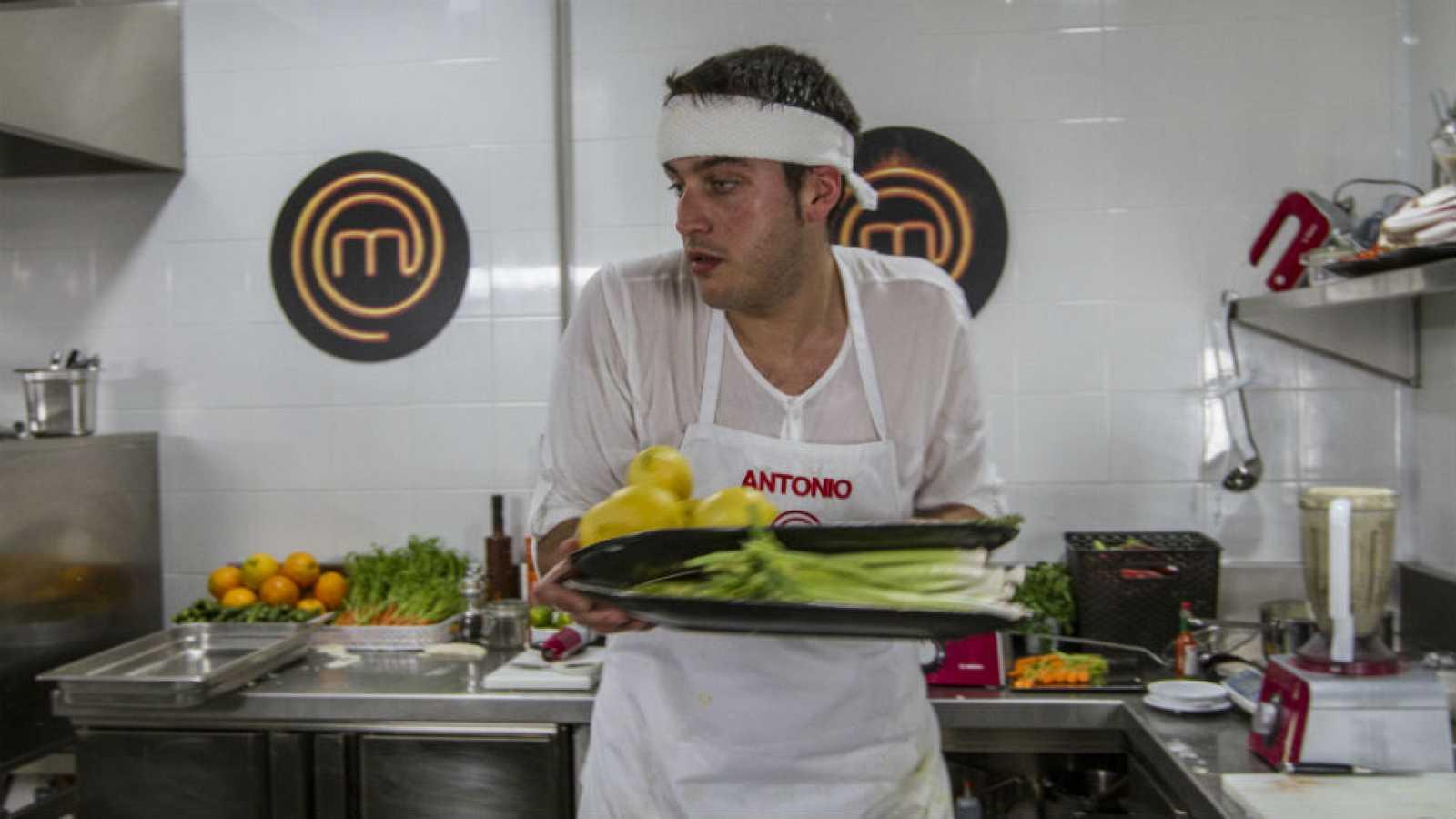 Antonio, cuarto puesto en MasterChef 3