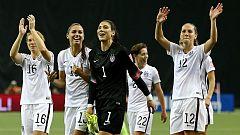 Estados Unidos peleará por el título tras vencer a Alemania