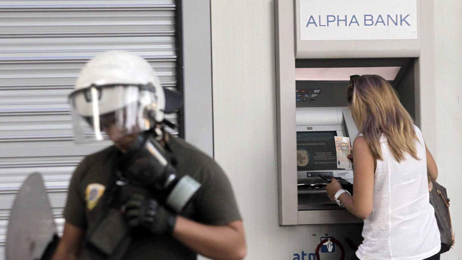 Cae el consumo en Grecia