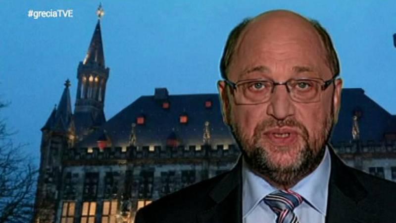 """Martin Schulz: """"Atenas no se encuentra ahora en una mejor posición para negociar"""""""